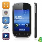 "S5292 Android 4.0.4 GSM Smartphone w/ 3.5"" Capacitive Screen, Wi-Fi, Quad-Band and TV - Black"