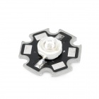 JR-3W-400-410nm 3W 40lm 410lm LED Purple Light Emitter Module - Silver + Black (20mm / 3.2~3.7V)