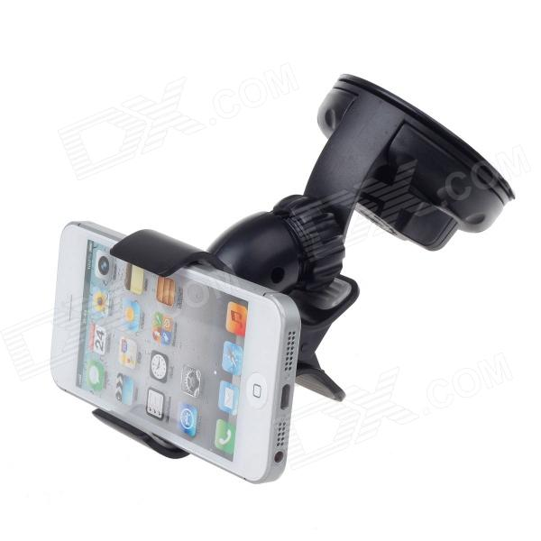 FLY S2224W-V Universal Suction Cup Car GPS / Mobile Phone Holder - Black