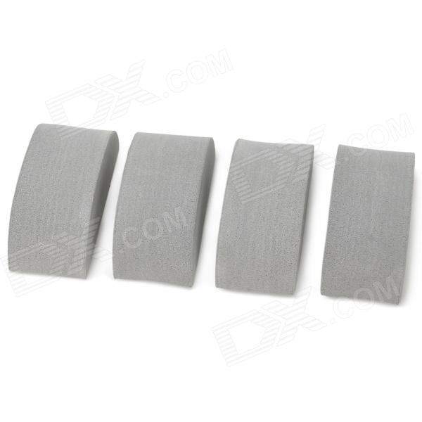 DG-218 Car Crash Barriers Door Guard Sticker - Grey (4PCS) bdw84d to 218