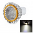 GU10 3W 120lm LED White Light COB Spotlight (85~265V)