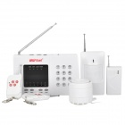 WOLF-GUARD YL-007K Anti-theft Digital Home Security Telephone Alarm System Set - White