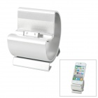 LHJ-30 Stylish Charging Docking Station for iPhone 4 / iPhone 4S / The New iPad - Silver