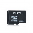 PNY Class 10 8GB Micro SDHC / TF Flash Card (8GB)