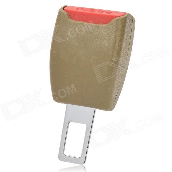 Auto Car Seat Big Seat Belt Buckle - Beige + Red