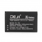 DEJI DJ-BL-5C Replacement 3.7V 1250mAh Li-ion Battery for Nokia 3650 / N70 / 6108 / CoolPad 828 / E6