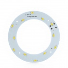 JR-6W-WW-5730 DIY 6W 530lm 3500K 12-SMD 5730 LED Warm White Light Module for Ceiling Lamp - (19~22V)