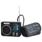 "GL-025 2.45"" LCD Digital Blood Pressure Monitor / Sphygmomanometer w/ MP3 Player / FM / Alarm Kit"