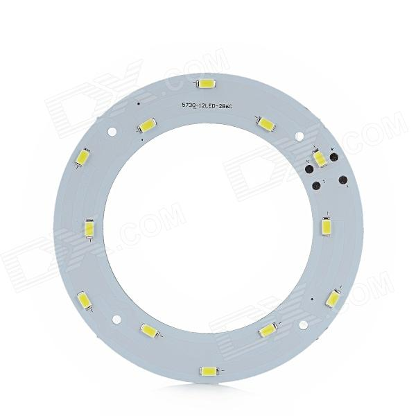 JR-6W-W-5730 DIY 6W 540lm 6500K 12-SMD 5730 LED White Light Module for Ceiling Light - (19~22V) сотовый телефон htc u11 plus 128gb amazing silver