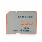 Samsung SDHC SD Memory Card - Silver + Orange (8GB / Class 4)