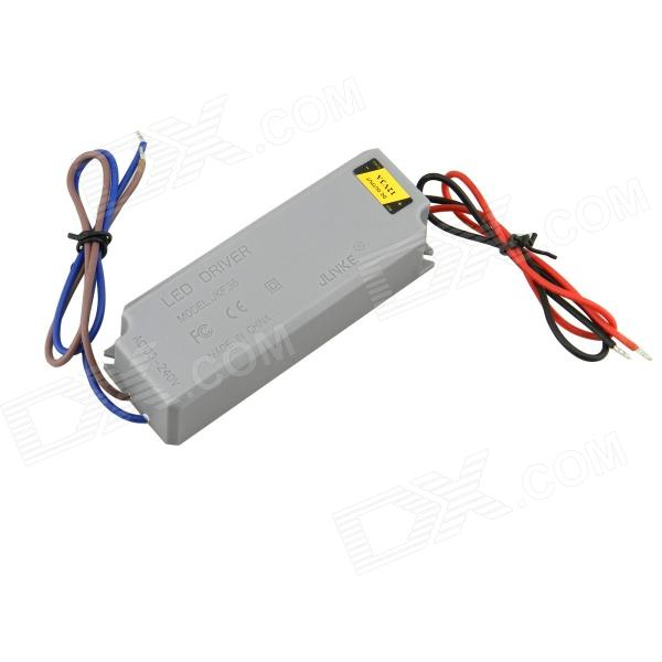 Waterproof 3A 36W Constant Voltage Power Source LED Driver - Grey (AC 100~240V) led driver 12v 3a ac dc adapter 220 to 12v converter low voltage transformers