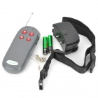 Remote Electronic Shock Bark Control Collar Trainer for Dog - Black