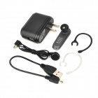 Gblue G21 Wireless Bluetooth v3.0 + EDR Stereo Headset w/ Earphone Set for Iphone + More - Black