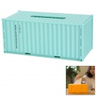 H-ZCH-0202 Demountable Container Style Tissue Box / Case / Holder - Light Green