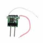 JR-M16-3*1W 3 x 1W LED Constant Current Power Supply - Green + Black + Silver (12V)