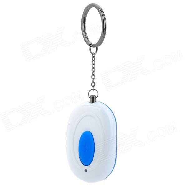 Bluetooth v4.0 Goods Finder Anti-Lost Alarm Device - White + Blue (1 x CR2032)