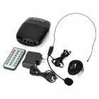 "SH SH-820 Portable 1.5 ""Screen Media Player 2 canales altavoz w / Micrófono / TF / FM - Negro"