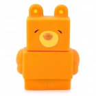 Cute Bear Style Monitor Cleaner & Keyboard Brush - Brown