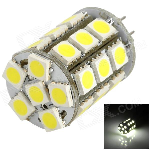 MSLED S06 G4 6W 240lm 6500K 27-SMD 5050 LED White Light Bulb (AC/DC 12V) g4 led bulb