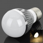Samvol E27 3W 240lm 3200K 3-LED Warm White-LED-Lampe - Silber (85 ~ 265V)