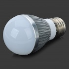 Samvol E27 5W 300lm 6500K 6-SMD 5730 LED White Light Dimmable Bulb Lamp (220V)