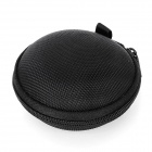 Portable Water Resistant Dustproof EVA Case Holder for Earphones / Bluetooth Earphone - Black