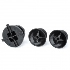 Direction Buttons + Rocker Cap for XBOX360 Wireless Controller - Black