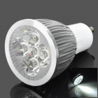 TOHDA GU10 5W 250lm 6500K 5-LED White Spotlight (85~265V)