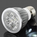 TOHDA E27 5W 250lm 6500K 5-LED White Spotlight (85~265V)
