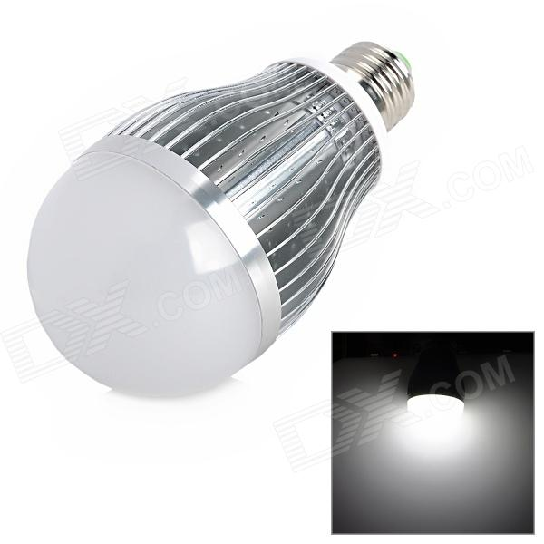 E27 9W 600lm 6500K 9-LED Cold White lamppu Lamppu