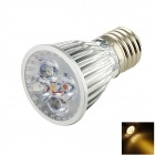 TOHDA E27 5W 250lm 3500K 5-LED Warm White Spotlight (85~265V)