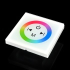 TM08 LED RGB Strip 4-Key Touch Control Panel Module - White + Black