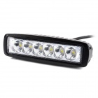 18W 1440lm 6500K 25 Degree Spot Beam 6-LED Work Light Bar (10~30V)