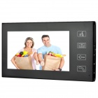"SY806MJID11 7"" TFT Color Display Video Door Phone - Black (2-Flat-Pin-Plug / 100~240V)"