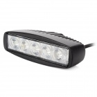 15W 1200lm 6500K White 5-LED Work Light Bar (10~30V)