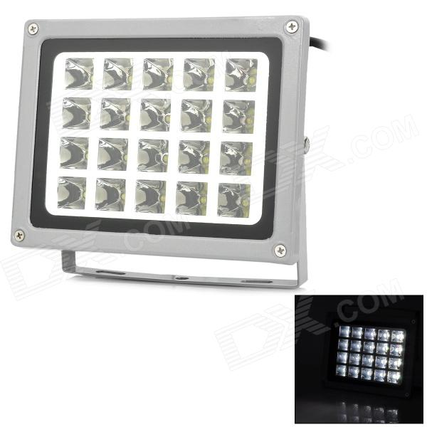 JR-20W-W-TGD Waterproof 20W 2000lm 6300K 20-LED White Light Project Lamp - Grey (85~265V) от DX.com INT