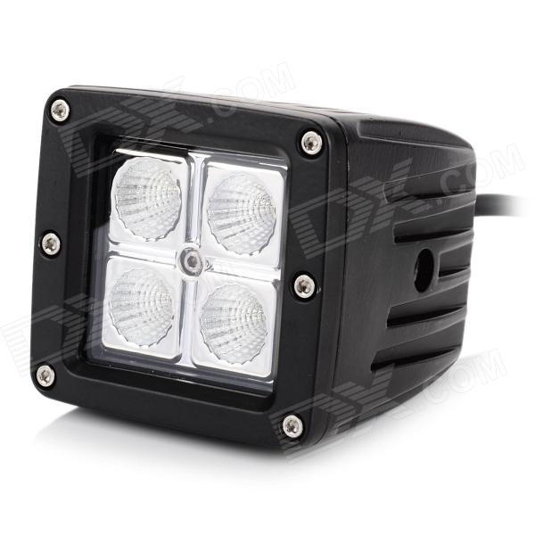16W 1148lm 6000K White Flood Beam 60 Degrees Work Light w/ Cree XB-D (10~30V)Off-Road Lights<br>Quantity1MaterialDiecastForm  ColorWhiteChip BrandCreeChip TypeCreeTotalTotal Emitters1Color BINWhiteColor Temperature6000Other FeaturesLensApplicationRoof lightPacking List<br>