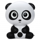 Cool Panda Style Bluetooth v2.1+EDR 2-Channel Speaker - Black + White