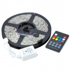 Waterproof 72W 3000lm 300-5050 SMD LED RGB Light Strip w/ RGB Remote Controller (5m / DC 12V)