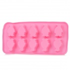 Penguin Shaped Chocolate / Ice Cube Tray Mold - Pink