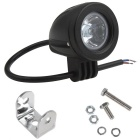 10W 950lm White LED 30 Degrees Spot Beam Round Work Light w/ Cree XML-T6 (10~30V)