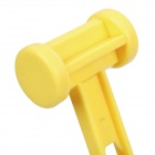 Light and Handy Plastic Tent Peg Hammer for Camping Use - Yellow