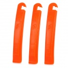 ROSWHEEL 23630 Plastic Tyre Lever Handy Tool - Orange (3 PCS)