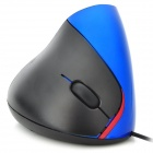 Wired USB Ergonomic 800dpi Vertical Optical Mouse - Black (140cm-Cable)