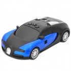 "Car Model Style 1.7"" LCD X / K / Ka / Ku / Laser / VG-2 Band Radar Detector - Blue + Black"