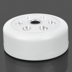 0.4W 90lm 6000K 6-LED Cold White Voice Control Lamp