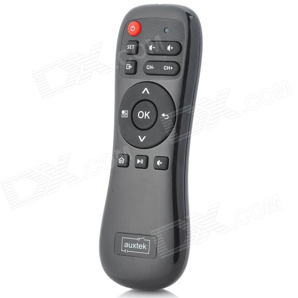 2-in-1 2.4GHz Wireless Air Mouse + universele IR Remote Controller - Zwart (2 x AAA)