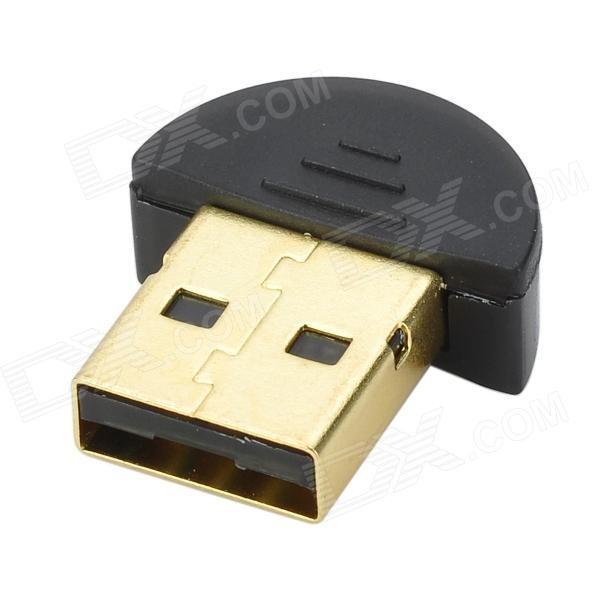 Bluetooth v4.0 CSR4.0 USB Dongle Adapter - Black
