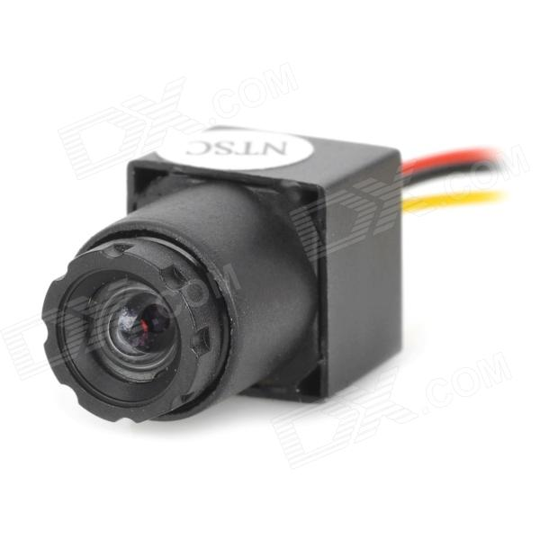 "MC900D-V9 Mini HD 1/3 ""CMOS CCTV Security Surveillance FPV Camera - Musta (NTSC / 520Line)"
