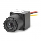 "MC900D-V9 Mini HD 1/3"" CMOS CCTV Security Surveillance FPV Camera - Black (NTSC / 520Line)"
